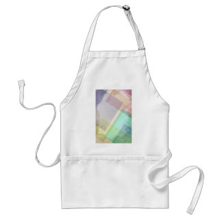 Pastel abstract adult apron