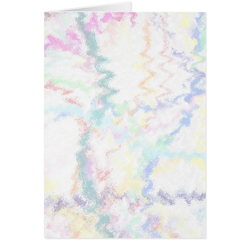 Pastel Abstract Background Greeting Card