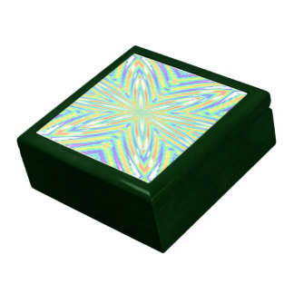 Pastel Abstract Box Jewelry Boxes