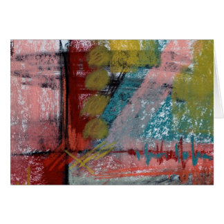 Pastel Abstract Midnight at the ER Card