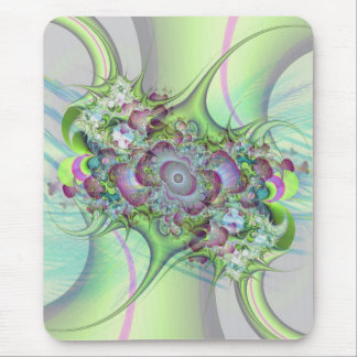 Pastel Abstract Mouse Pad