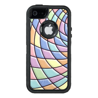 Pastel Abstract Pattern OtterBox iPhone 5/5s/SE Case
