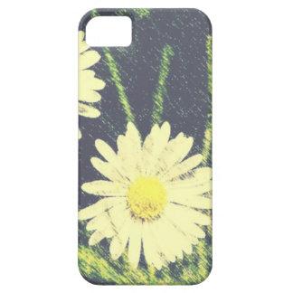 Pastel amarillo verde de la floración de las iPhone 5 Case-Mate protector