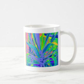 Pastel American Agave Cacti  Art by Sharles Coffee Mug