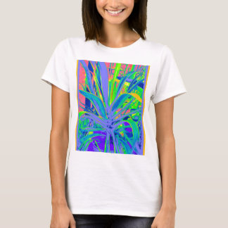 Pastel American Agave Cacti  Art by Sharles T-Shirt