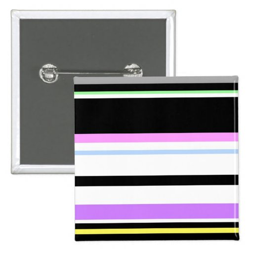 Pastel And Black Lines Button