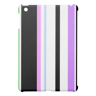Pastel And Black Lines iPad Speck Case Case For The iPad Mini