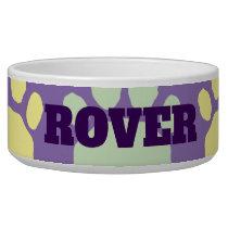 Pastel Animal Paw Print Bowl