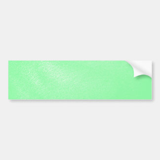 Pastel Aqua Green Leather Look Bumper Sticker