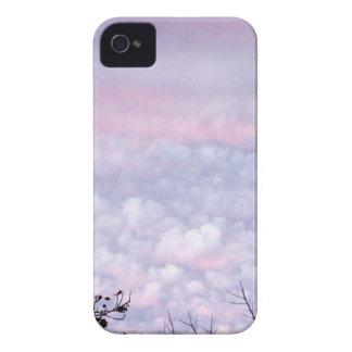 Pastel Autumn Evening Clouds Case-Mate iPhone 4 Cases
