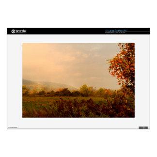 "Pastel Autumn Morning 15"" Laptop Decals"
