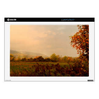 Pastel Autumn Morning Laptop Decals