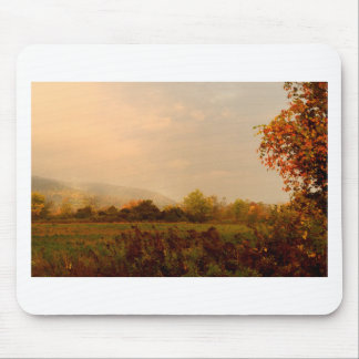 Pastel Autumn Morning Mouse Pad