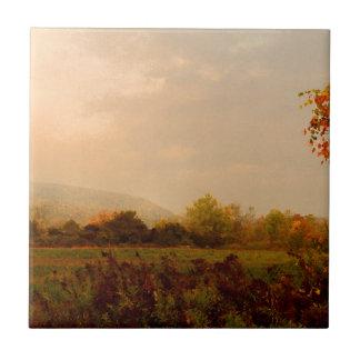 Pastel Autumn Morning Tiles