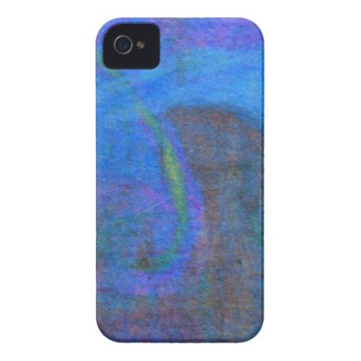 Pastel azul suave iPhone 4 cárcasas