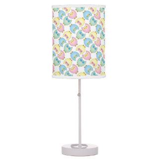 Pastel Baby Owl Nursery Theme Table Lamp
