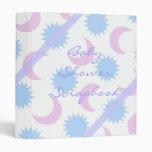 Pastel Baby Shower Photo Scrapbook Binder