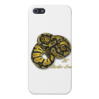 Pastel Ball Python Case For iPhone SE/5/5s
