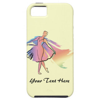 Pastel Ballerina (personalized) iPhone SE/5/5s Case