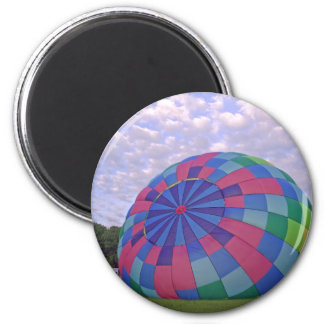 Pastel balloon inflating, xlta event 2 inch round magnet