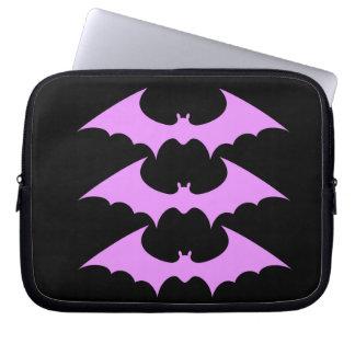 pastel bat laptop/tablet sleeve