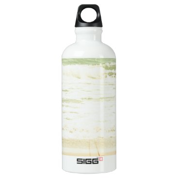 Beach Themed Pastel Beach Photography Aluminum Water Bottle
