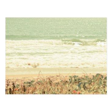 Beach Themed Pastel Beach Photography Postcard