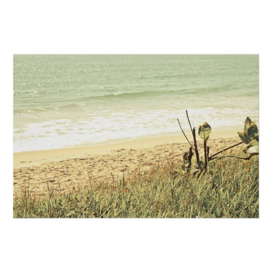 Pastel Beach Photography Poster