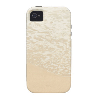 Pastel Beach Photography Sand and Sea foam Case-Mate iPhone 4 Cases