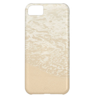 Pastel Beach Photography Sand and Sea foam iPhone 5C Cases