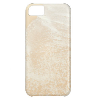 Pastel Beach Photography Sand and Sea foam Cover For iPhone 5C
