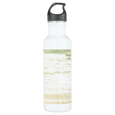 Beach Themed Pastel Beach Photography Water Bottle