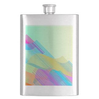 Pastel Bezier half Flask