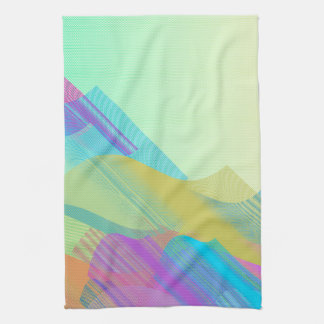Pastel Bezier half Towels