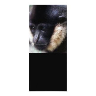 Pastel blanco del Gibbon de Cheeked Invitación 10,1 X 23,5 Cm