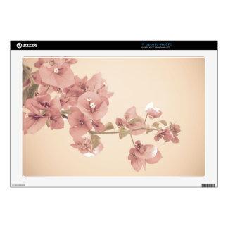 Pastel Blossom Branch Laptop Skins