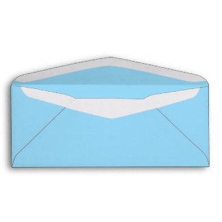Pastel Blue #9 Envelope