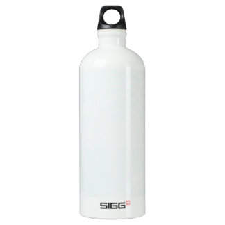 Pastel Blue Abstract Flowers SIGG Traveler 1.0L Water Bottle
