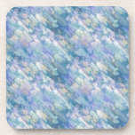 Pastel Blue Abstraction Drink Coasters