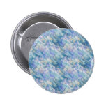 Pastel Blue Abstraction Pinback Button