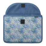 Pastel Blue Abstraction Sleeves For MacBook Pro