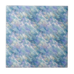 Pastel Blue Abstraction Tiles