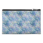 Pastel Blue Abstraction Travel Accessories Bag