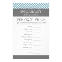 Pastel Blue Baby Shower Game - Perfect Price Flyer