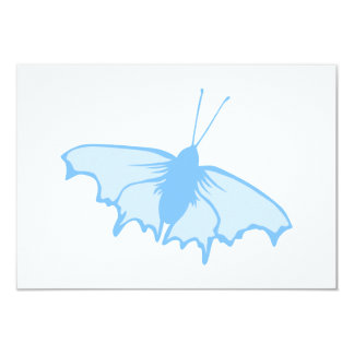 Pastel Blue Butterfly. Card