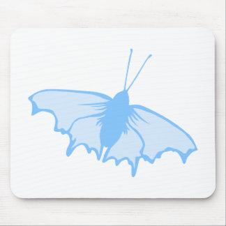 Pastel Blue Butterfly. Mousepads