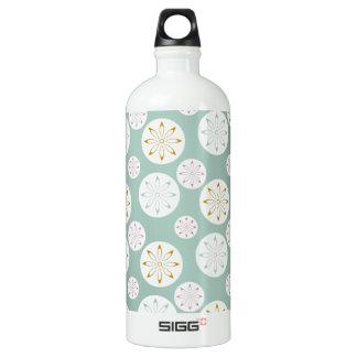 Pastel Blue Circle Star Pattern for Her SIGG Traveler 1.0L Water Bottle