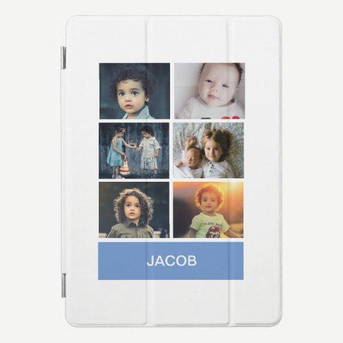 Pastel Blue Custom Photo – Personalized iPad Pro Cover