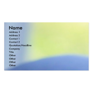 Pastel Blue Double-Sided Standard Business Cards (Pack Of 100)