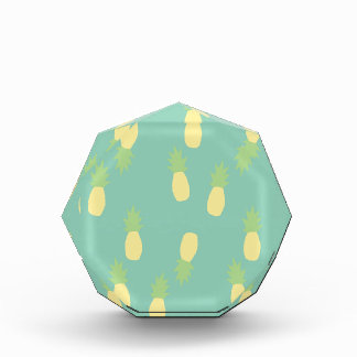Pastel Blue Exotic Back Plan Love  Pineapple Award
